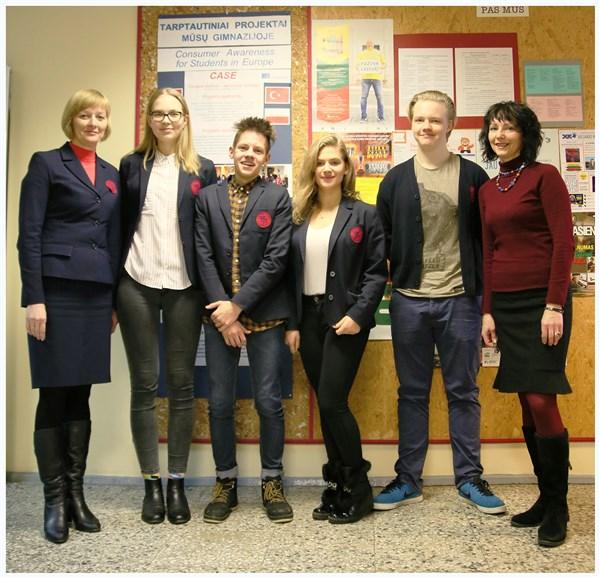 """Erasmus+"" programos projektas CASE įsibėgėja."
