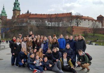 Gimnazistų kelionė į Krokuvą