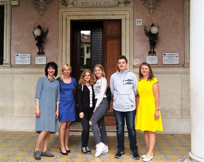 Baigiamasis CASE projekto dalyvių susitikimas Italijoje
