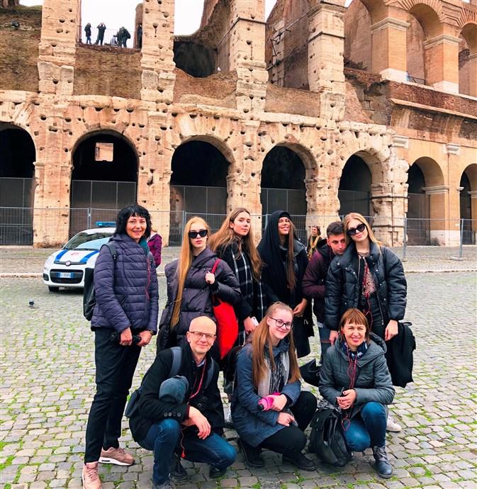Projekto BET dalyvių susitikimas Italijoje