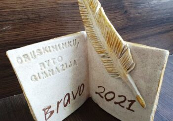BRAVO GIMNAZISTAI 2021